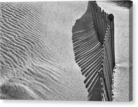 Dunes Canvas Print - Castles In The Sand by Paulo Abrantes