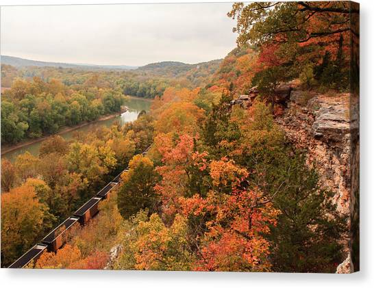 Castlewood State Park Canvas Print