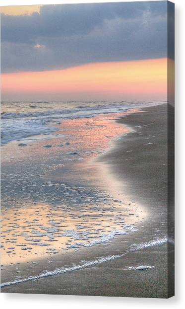 Caswell Beach. Canvas Print by JC Findley