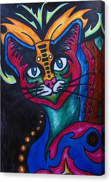 Cat 2 Canvas Print