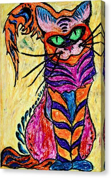Cat 3 Canvas Print
