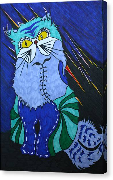 Cat 4 Canvas Print