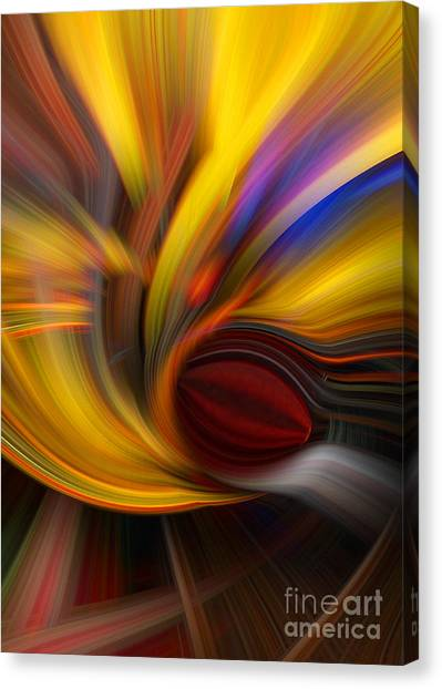 Cat Eye Abstract Canvas Print