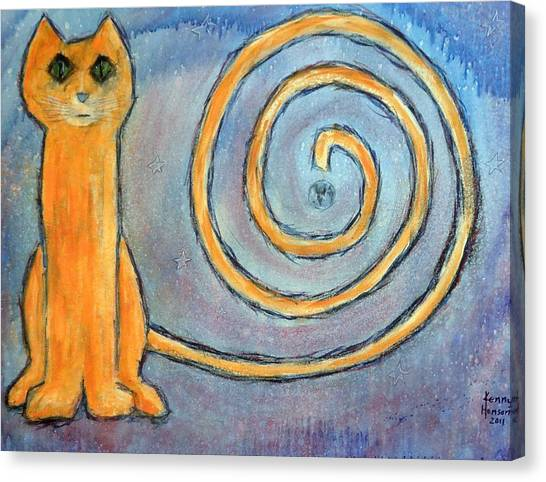 Cat World Canvas Print