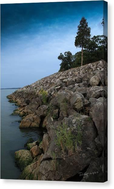 Catawba Point Shoreline Canvas Print