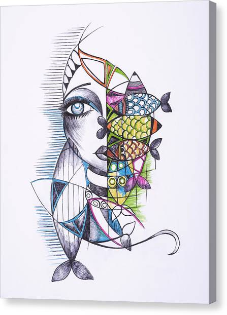 Catch Canvas Print by Chibuzor Ejims