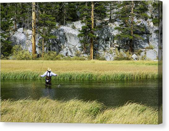 Catch Of The Day - Eastern Sierra California Canvas Print