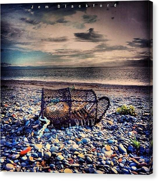 Lobster Canvas Print - Catch Of The Day by Jem Blackford