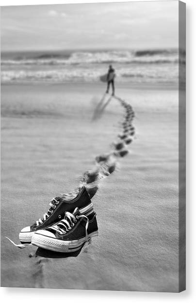 Catch Some Waves Canvas Print