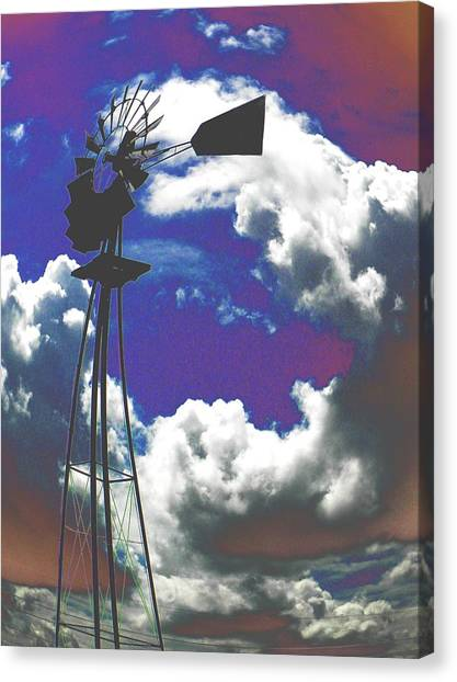 Catch The Wind Canvas Print
