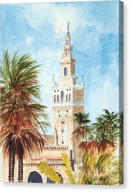 Catedral De Sevilla Canvas Print