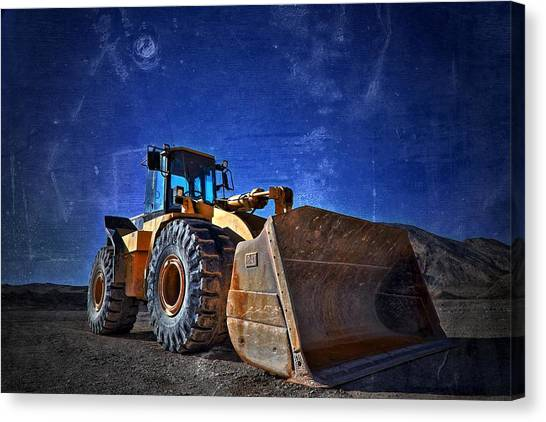 caterpillar 970F Canvas Print