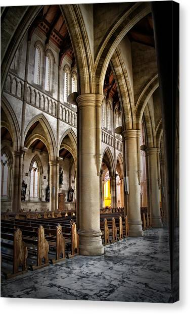 Cathederal Interior Canvas Print by John Monteath