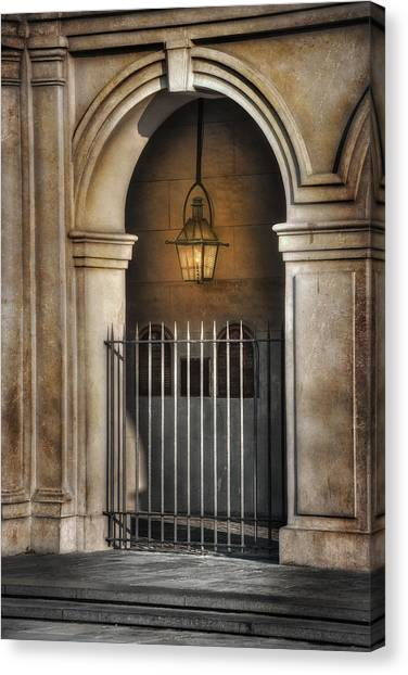Cathedral Gate Canvas Print