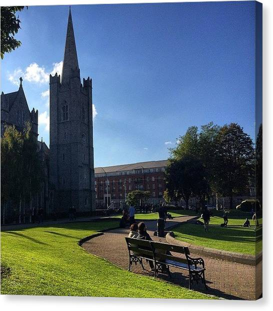 Japanese Canvas Print - #cathedral In #dublin #ireland by Ryoji Japan