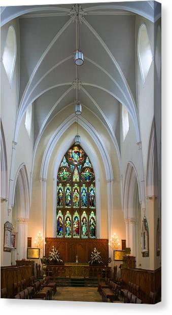 Cathedral Interior Canvas Print