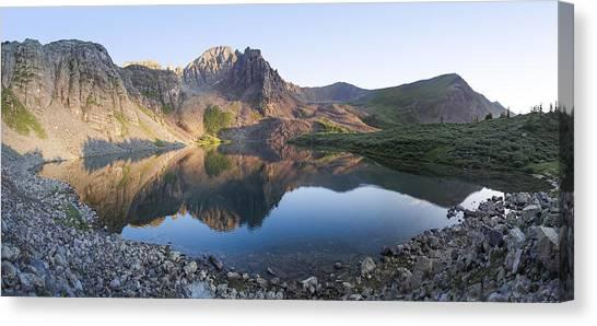Cathedral Lake Reflection Canvas Print