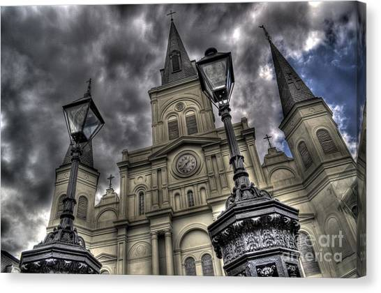 Cathedral New Orleans Canvas Print