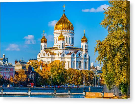 Cathedral Of Christ The Savior - 1 Canvas Print