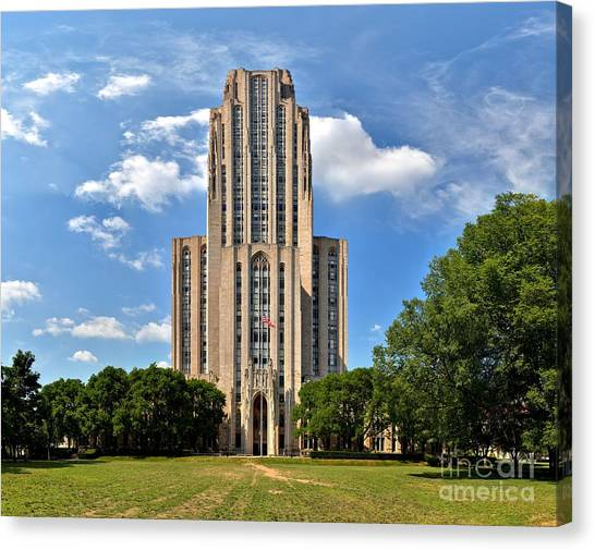 Cathedral Of Learning Pittsburgh Pa Canvas Print