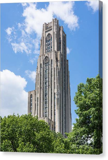 Cathedral Of Learning - Pittsburgh Pa Canvas Print