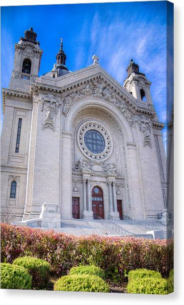 Cathedral Of Saint Paul II Canvas Print
