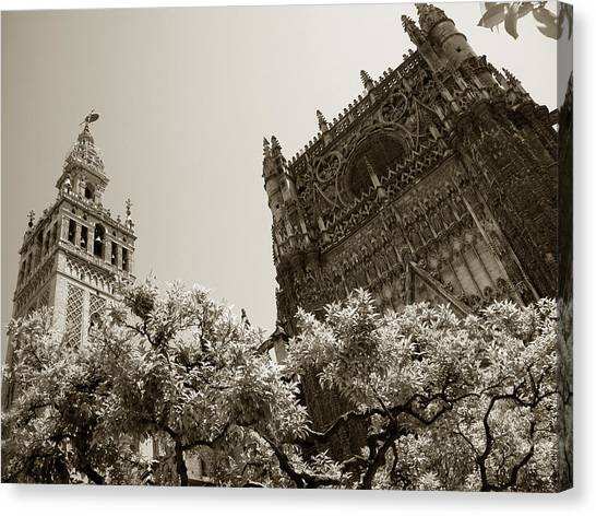 Cathedral Of Seville Canvas Print