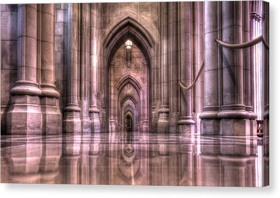 Cathedral Reflections Canvas Print