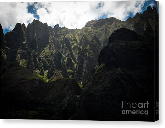 Cathedrals Na Pali Coast Canvas Print