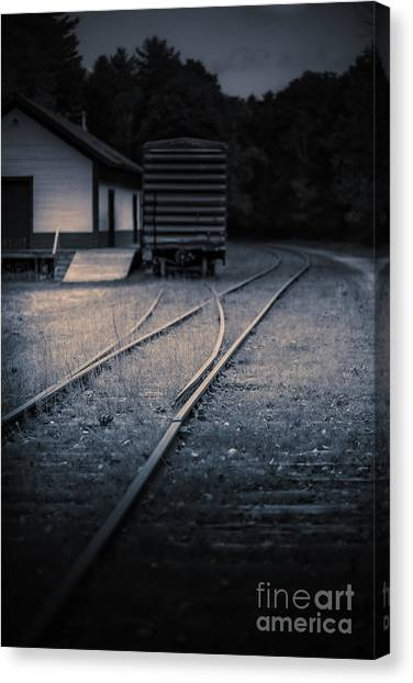 Freight Canvas Print - Caught In The Open by Edward Fielding