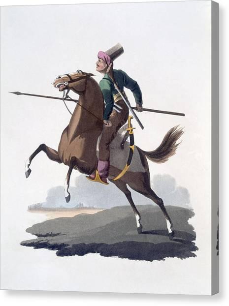 Turkish Canvas Print - Cavalry Man, 1818 by English School