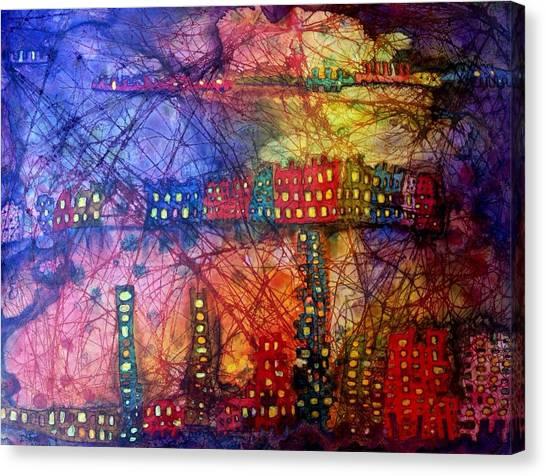 Cave City Canvas Print