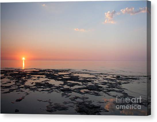 Cave Point Pools Canvas Print