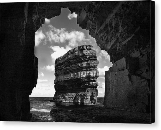 Cave With A View Canvas Print by Tony Reddington