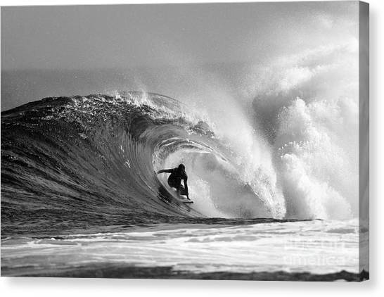 Wave Canvas Print - Caveman by Paul Topp