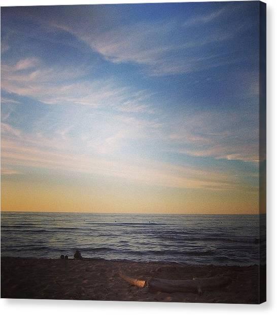 Prince Edward Island Canvas Print - Cavendish Beach Pei Two by Kathleen Barnes