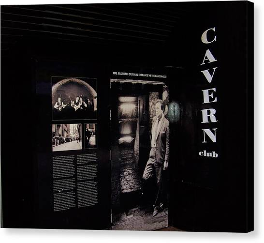 Cavern Club Original Doorway Liverpool Uk Canvas Print
