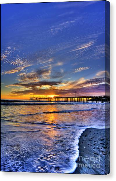 Cayucos Sunset Canvas Print