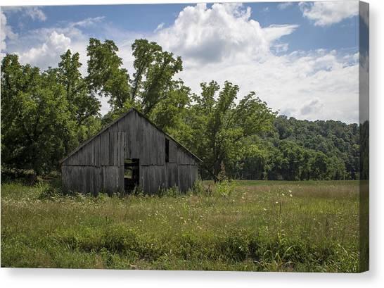 Cedar Creek Barn II Canvas Print