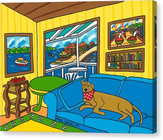Cedar Key Snoozer Canvas Print