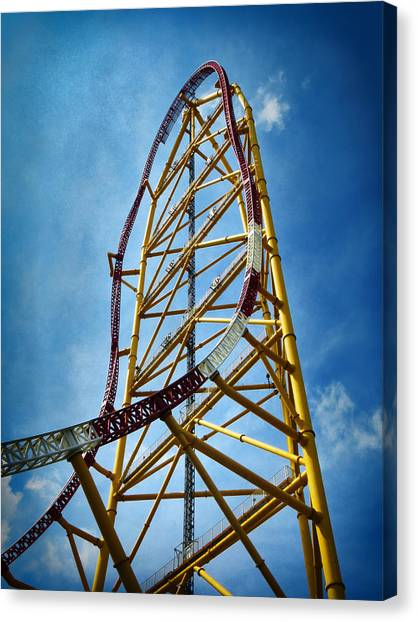 Cedar Point - Top Thrill Dragster Canvas Print