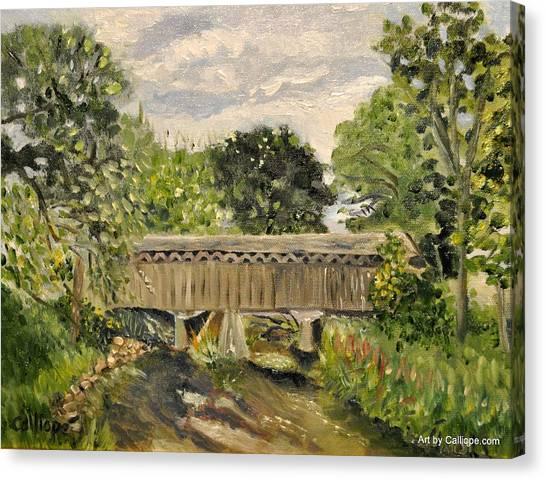Cedarburg Covered Bridge Canvas Print
