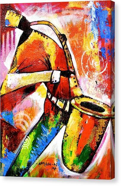 Celebrating Music Canvas Print