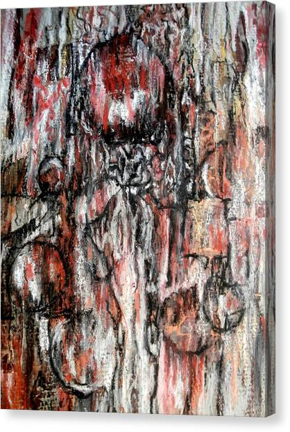 Celebrating The Marriage Of Order And Chaos Canvas Print