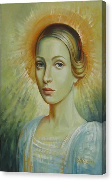 Celestial Canvas Print by Elena Oleniuc
