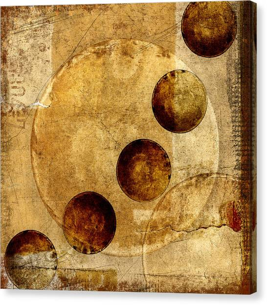 Celestial Sphere Canvas Print - Celestial Spheres by Carol Leigh