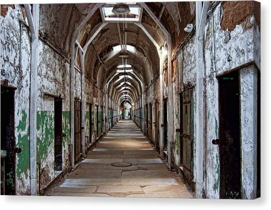 Cell Block One Canvas Print
