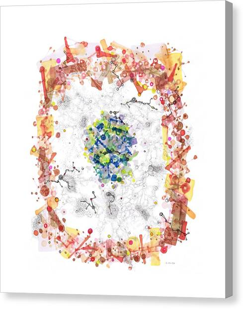 Cellular Generation Canvas Print