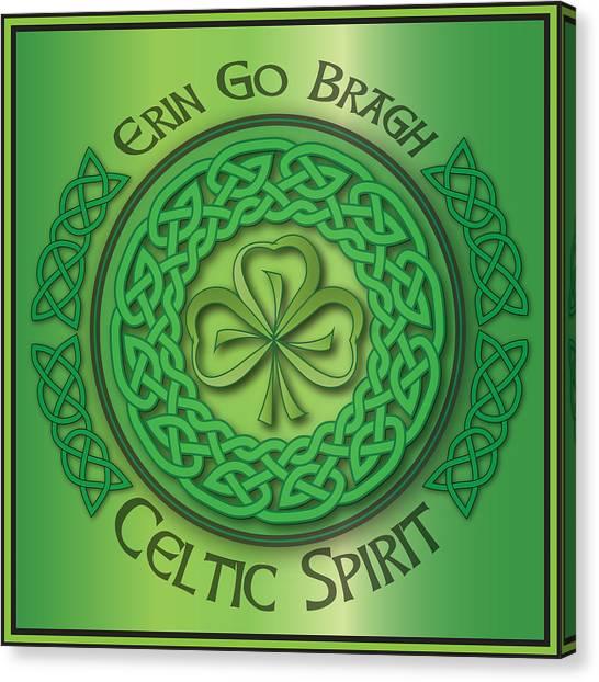Celtic Spirit Canvas Print