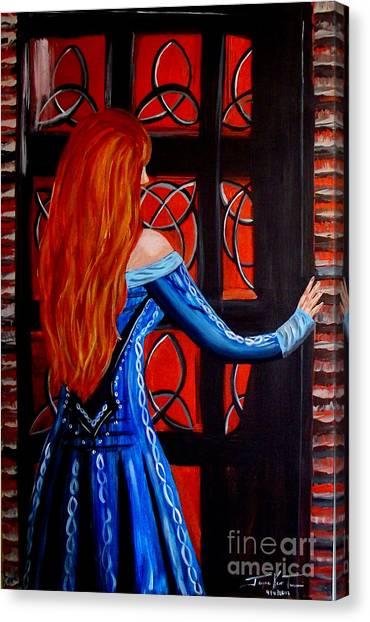 Celtic Woman Canvas Print